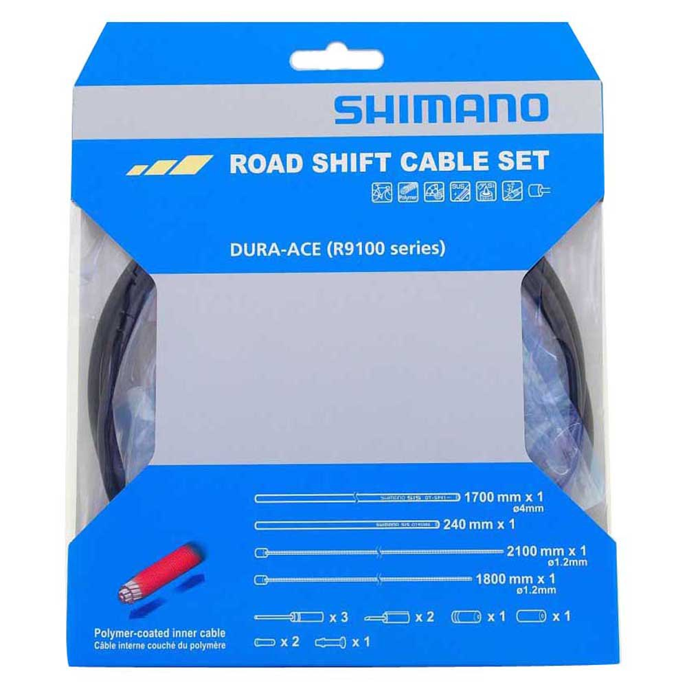Shimano Dura-Ace RS900 Road gear cable set black Polymer coated inners