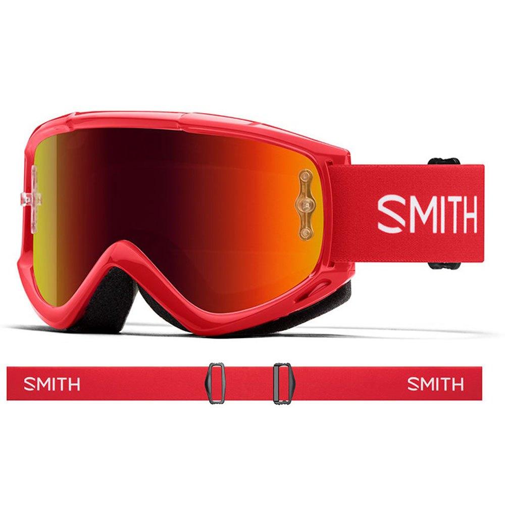 Máscaras Smith Fuel V1 Max M Red Mirror Red Rock
