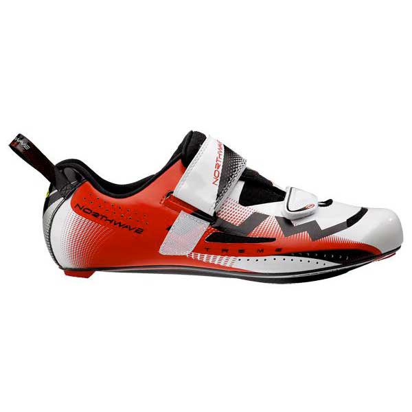 Northwave Extreme Triathlon White/red