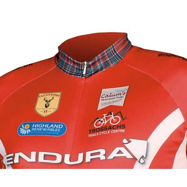 Endura Coolmax Printed Clan Jersey Red buy and offers on Bikeinn e29e51723