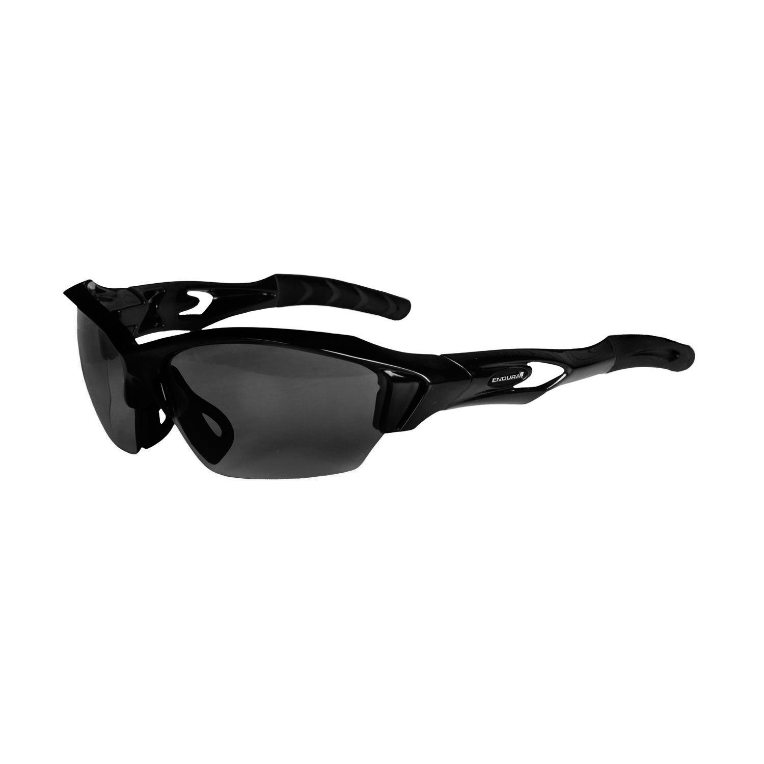 Endura Guppy Glasses 3 Sets Of Lenses (clear Persimmon And Smoke)