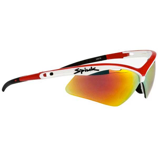 Spiuk Ventix / Red Mirror Lenses