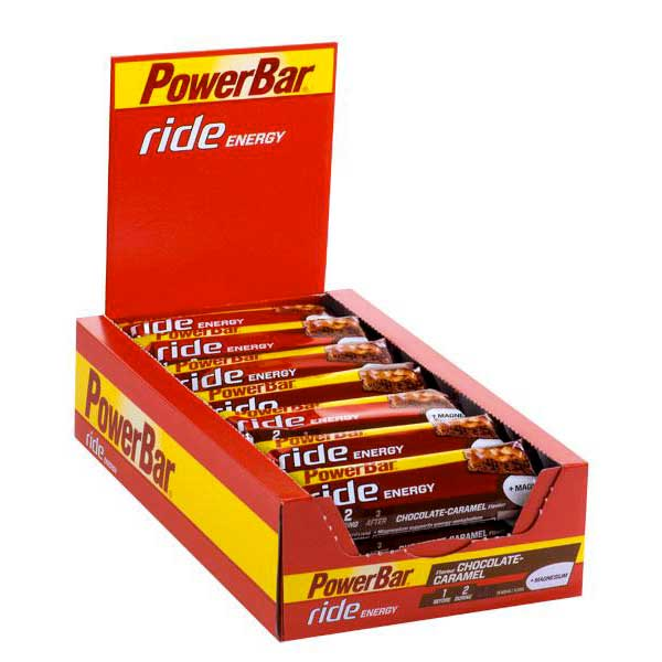 Powerbar Ride Chocolate Caramel Box 18u