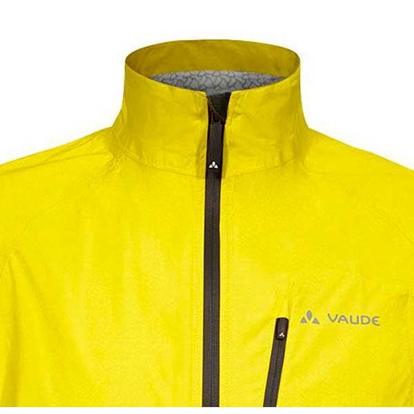 vaude drop jacket iii yellow buy and offers on bikeinn. Black Bedroom Furniture Sets. Home Design Ideas