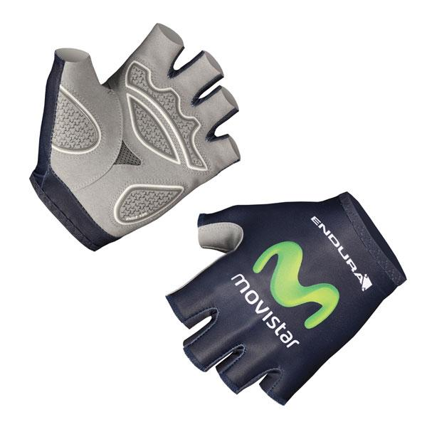 Endura Movistar Team Replica Mitt Blue
