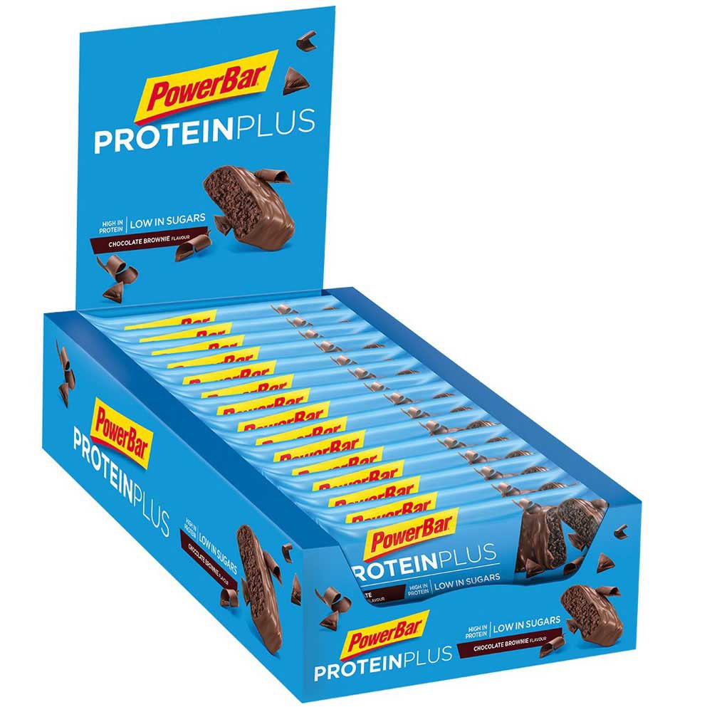 Powerbar Proteinplus Low Sugar 35gr Choco 30 Units