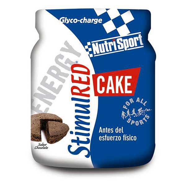 Suplementación deportiva Nutrisport Stimulred Cake 560gr
