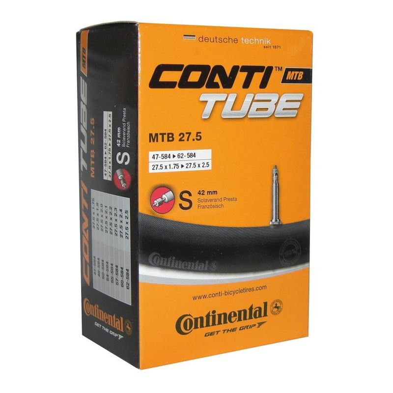 Continental Mtb Tube Presta 42mm 27.5