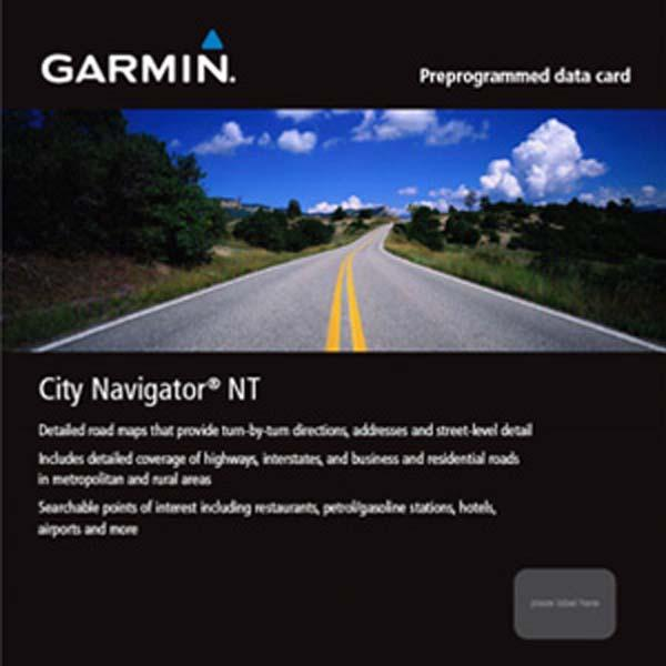 Garmin City Navigator North America NT Canada only