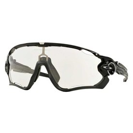 Oakley Jawbreaker Polished Black W/ Clear To Photochromic