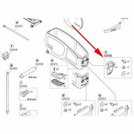 Thule Ratchet Catch for RoundTrip Transition 52456