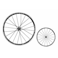 Fulcrum Racing 5 LG Black/White Campy Clincher Pair