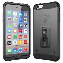 Armor-x cases Rugged Case Kickstand Belt Clip for iPhone 6 Plus Gold