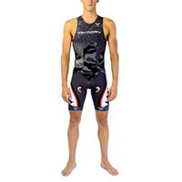 Taymory Trisuit Back Zip Transition
