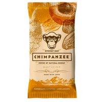Chimpanzee Energy Bar Apricot 55 g Box 20 Units