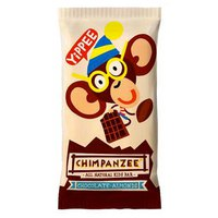 Chimpanzee Energy Bar Chocolate y Almendras 35gr Caja 25 Unidades