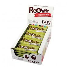 Roo´bar Raw Energy Bar Hemp Protein And Chia 30gr X 20