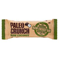Paleo crunch Bar Raw Coconut 47 g x 12 Units