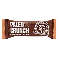 Paleo crunch Bar Raw Dark Cacao Protein Bar 48 g x 12 Units