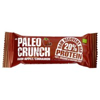 Paleo crunch Bar Raw Apple And Cinnamon Protein Bar 48 g x 12 Units