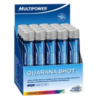 Multipower Guarana Vial Shot (Box 20 Units)