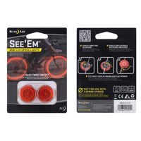 Nite ize See Em Led Mini Spoke Light 2Pk.