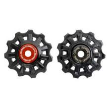 Campagnolo Super Record Jockey Wheel Set 11s