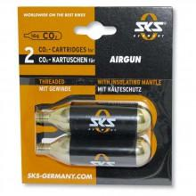 Sks 2 Cartridges Co2 16 Grs. Airgun