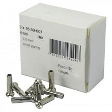 Dt swiss Cable Tips Brass 100 Units