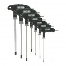 Var Set Of 7 P Handled Hex Wrenches