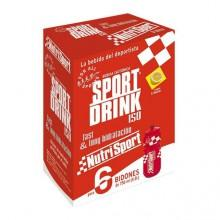 Nutrisport SportBebida Powder 6 Unidades With Bottle
