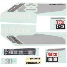 Rockshox 30 Gold Stickers Kit