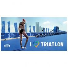 Stt sport CrazyTowel I Love Triathlon Terry Loop