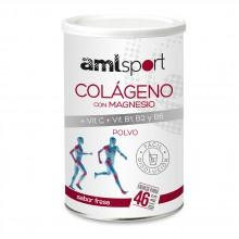 Amlsport Collagen With Magnesium And Vitamin C+B1+B2+B6 350gr Strawberry