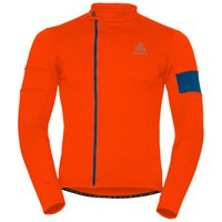 Odlo Stand Up Collar L/S Full Zip Lombardia W