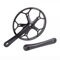 Bikefun Single Ring Cranksset For Drive Belt Oops Bike