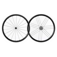 Campagnolo Bora WTO 33 2 Way Fit Dark Label Pair