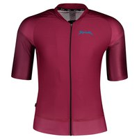 Spiuk Max Bordeaux Short Sleeve Jersey