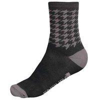 Endura Houndstooth 2 Pack Socks