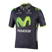 Endura Movistar Team Replica S/s Jersey Blue Coldblack